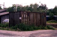 Ex-CSD Container at Olbramovice, Bohemia (CZ), 2008