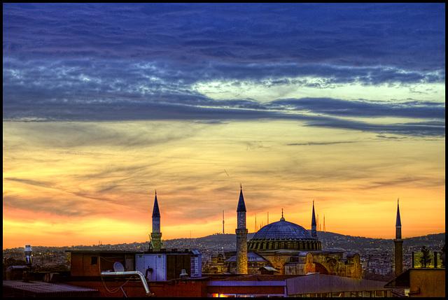 Hagia Sofia Sunrise