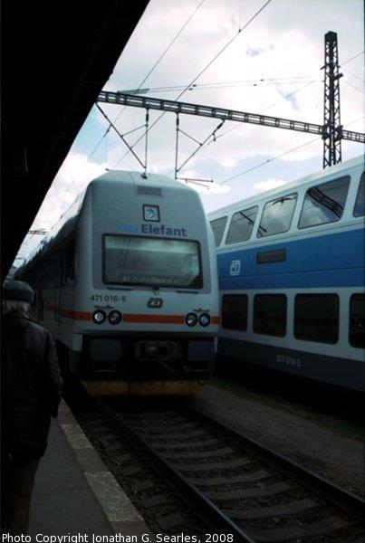 CD #471016-6 at Masarykovo Nadrazi, Prague, CZ, 2008