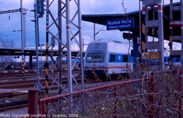 CD #471010-9 After Arrival at Kutna Hora Hlavni Nadrazi, Kutna Hora, Bohemia (CZ), 2008