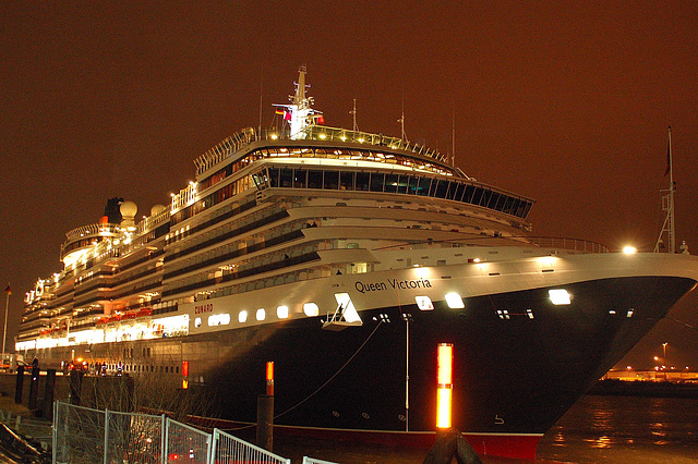 Queen Victoria in Hamburg 2007