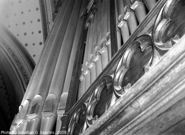 Pipe Organ, Picture 3, Katedral sv. Vaclava, Olomouc, Moravia (CZ), 2008