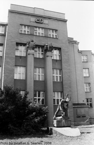 Ceske Drahy Offices, Olomouc, Moravia (CZ), 2008
