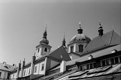 Bazilika Minor na sv. Kopecku, Samotisky, Olomoucky Kraj, Moravia (CZ), 2008