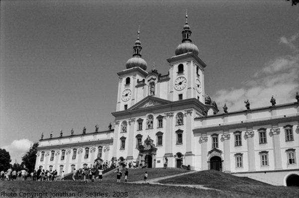Bazilika Minor na sv. Kopecku, Picture 2, Samotisky, Olomoucky Kraj, Moravia (CZ), 2008
