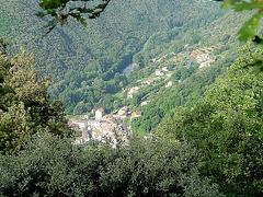 aperçu sur le village de Saint Etienne Estréchoux  et sur la Mare