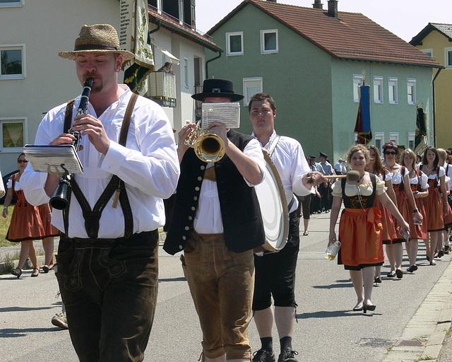 130 Jahre Burschenverein Festzug