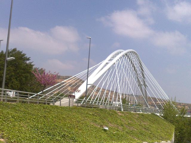 Logroño: puente sobre el Ebro