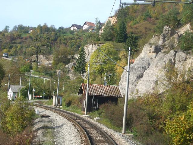 La strato al Brod Moravice
