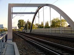 Trainbridge above Bille