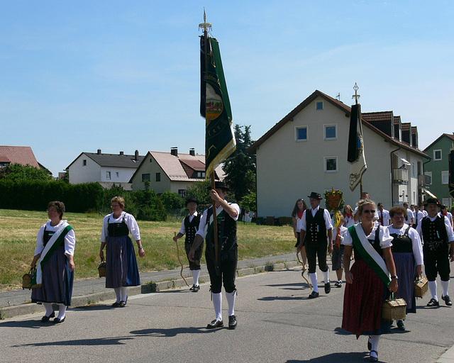 130 Jahre Burschenverein - Festzug
