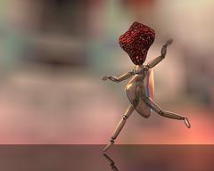 L'homme à tête de fraise