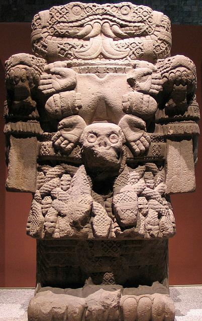 Divinité Cōātlicuē, Mexique