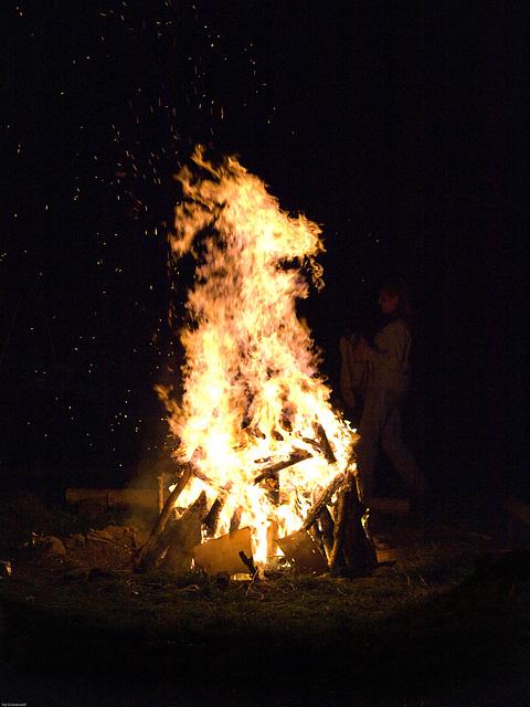 Mittsommer Feuer