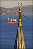 ship versus minaret......
