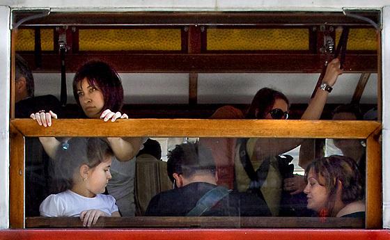 tram window - 1