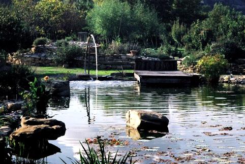 """Limoux le jardin de """"la Bouichere"""""""