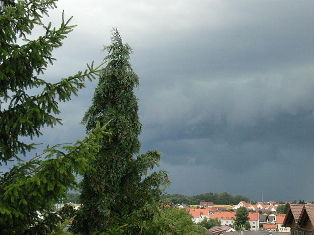Unwetter zieht auf