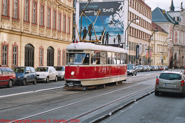DPP #5002 on Narodni Trida, Prague, CZ, 2008