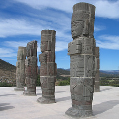 Atlantes, Tula au Mexique