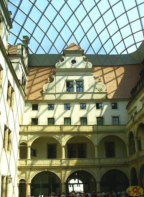 2009-05-20 25 Dresden, Kleiner Schloßhof