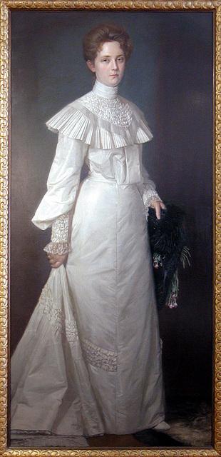 Bernhard Winter, Dame in Weiß