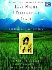 Dang Thuy Tram: Lastan nokton mi sonĝis pri paco