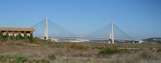 Algarve, Bridge of Vila Real de Santo António, between Portugal and Spain