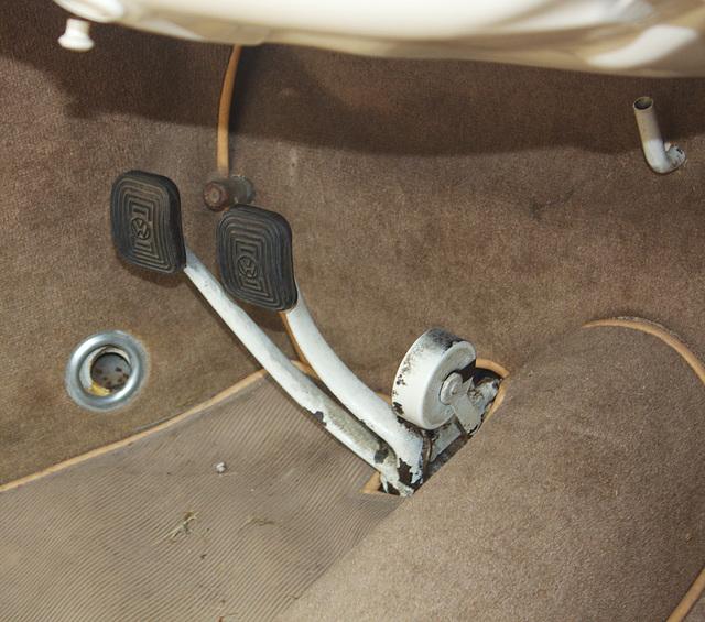VW Käfer Fußraum