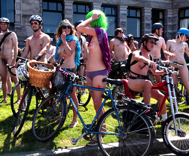World Naked Bike Ride 2009, Victoria, BC