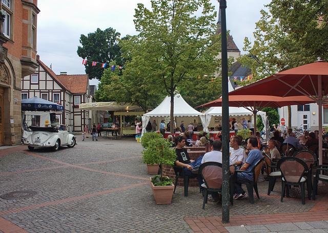 Fußgängerzone in Hessisch Oldendorf
