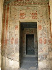 Eingang zu einer Kammer