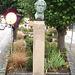 La tête de Carl !  Carl Adolph Agardh head statue- Båstad.  Suède - Sweden.   21-10-2008 Carl Adolph Agardh