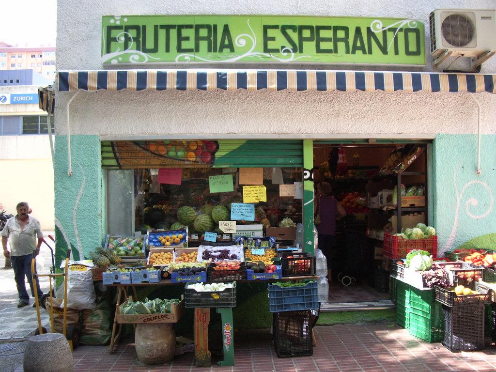 La plej verda fruktovendejo en la mondo