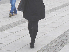 Allfrûkt Swedish Lady in Dominatrix Boots /  La Dame Allfrûkt  en bottes de Dominatrice -   Helsingborg / Suède - Sweden.  22 Octobre 2008