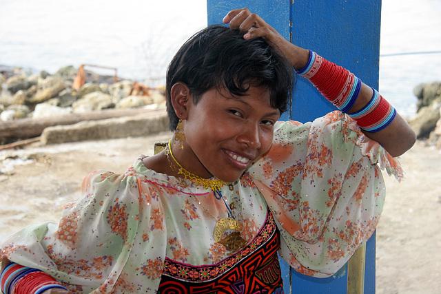 Woman Kuna, Colombie