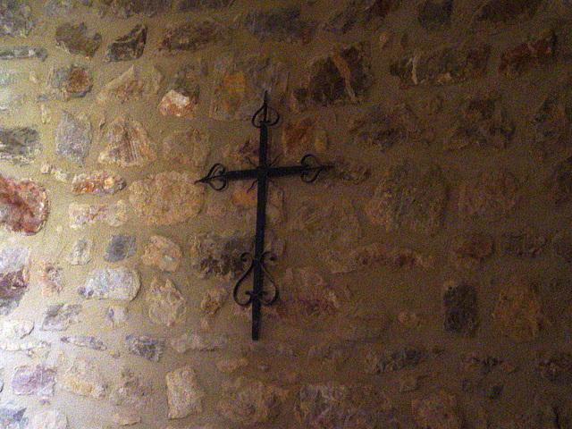 croix forgée