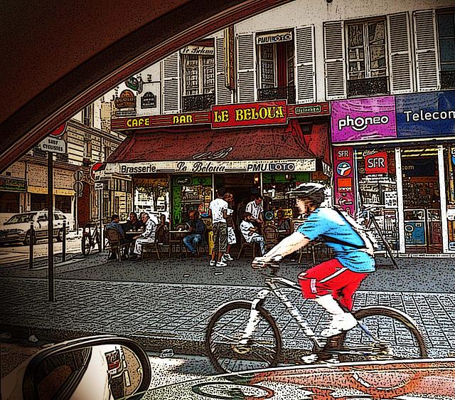 à paris ... en vélo