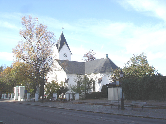 Église de Ängelholm - Suède  /  23 octobre 2008