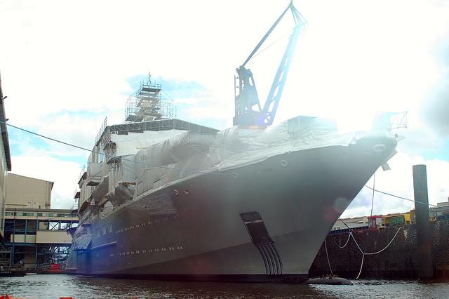 Roman Abramowitsch neue Yacht!
