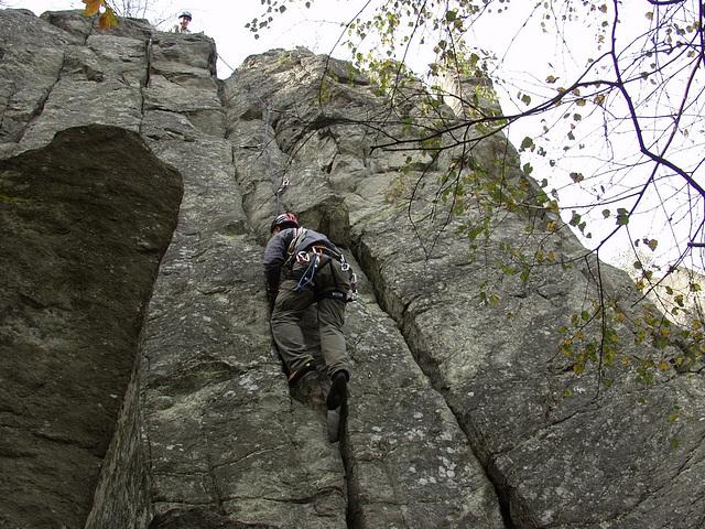 Steinwand in der Rhön