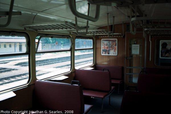 CD 810 Class Interior, Picture 2, Olbramovice, Bohemia (CZ), 2008