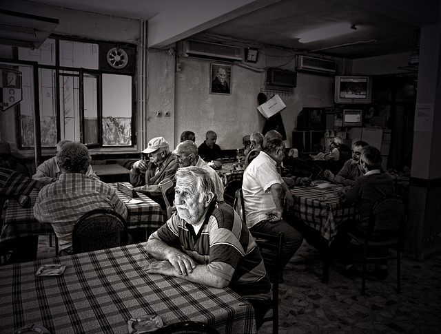 Old Men Cafe
