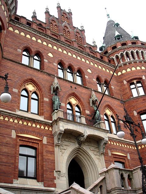 Architecture Viking contemporaine / Majestuous archtectural building