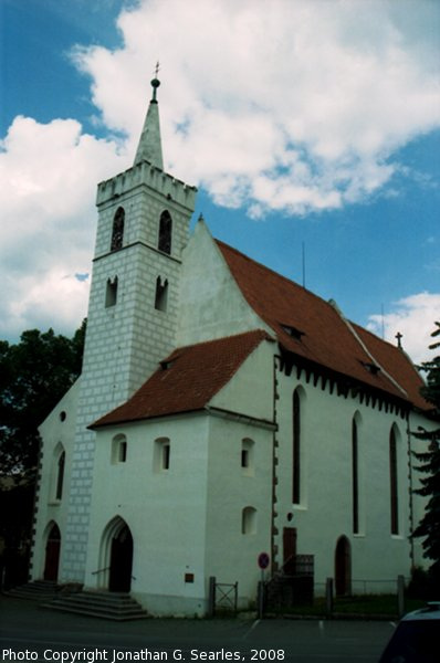 Decansky Kostel sv. Martin, Picture 2, Sedlcany, Bohemia (CZ), 2008