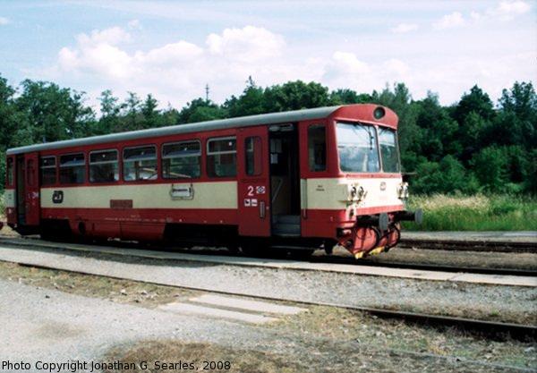 CD #810472-1 at Nadrazi Sedlcany, Sedlcany, Bohemia (CZ), 2008