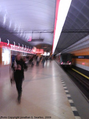 Kobylisy Metro Blur, Prague, CZ, 2009