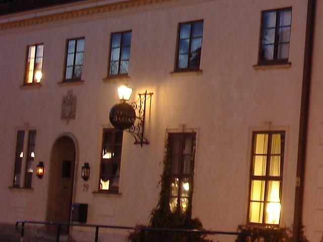 L'acienne hôtel  Båstad / Former Hotel Båstad -  Suède /  Sweden.   23 octobre 2008 -  Zoom
