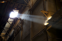 rays in the big hall.......