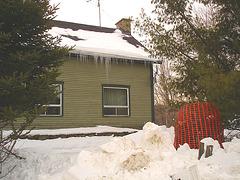 Girouette Austinoise - Weathercock -  Austin- QC. CANADA -  7 février 2009 - Maison de la girouette